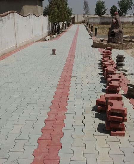 Rockrete Concrete Interlockable Pavers Kerbstones Blocks